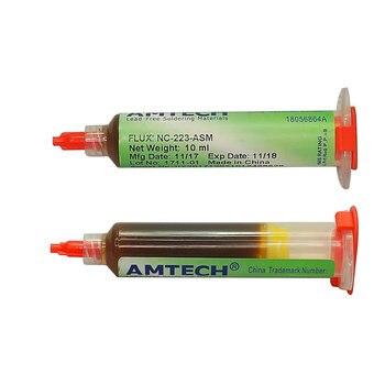 100% Original AMTECH-NSM-223-UV 10ml SMT / SMD BGA Soldering Solder Flux Paste For PCB Rework Reballing Welding Repair Tools