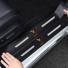 For Bolero Salsa Tango Cupra-only Cupra R Auto Door Entry Pedal4Pcs Car Door Threshold Scuff Plate Door Sill Protector Stickers