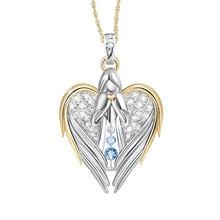 Модное и популярное женское креативное ожерелье с ангелом ювелирные