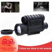 متعددة الوظائف 6x50 للرؤية الليلية بندقية البصر البصري للرؤية الليلية Riflescope 200 متر المدى ناظور أحادي العين للرؤية الليلية نطاق NV-في منظار أحادي/ثنائي من الرياضة والترفيه على