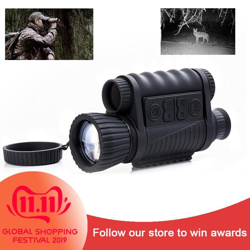 Multifunctional 6x50 Night Vision Rifle Optical Sight Night vision Riflescope 200M Range Night Vision Monocular NV Scope