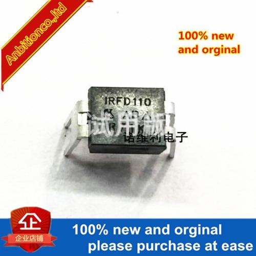 5pcs 100% New Original  IRFD110 IRFD110PBF DIP-4 1A 100V MOS In Stock