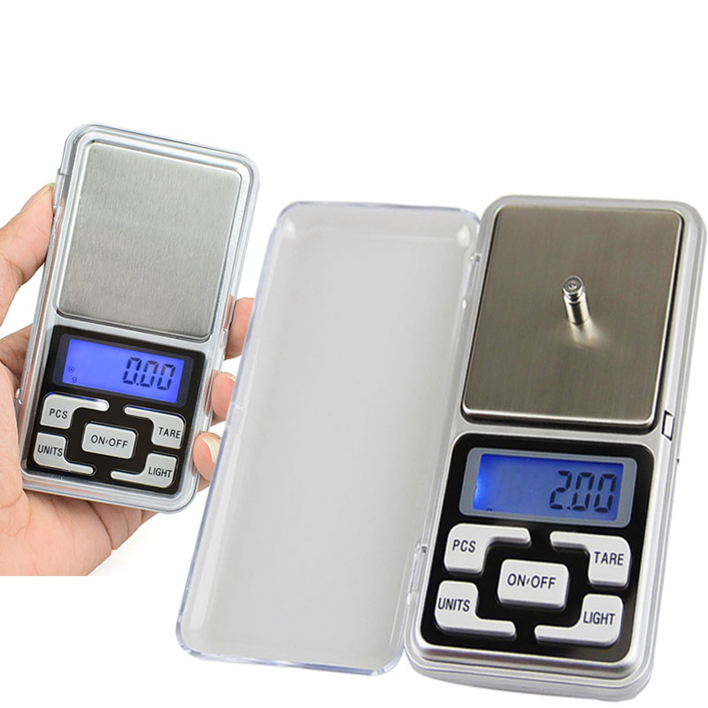 Digital Mini Pocket Electronic Scale Weight Grams 0.01g High Accuracy Backlight Electric Pocket For Jewelry Gram Weight Kitchen