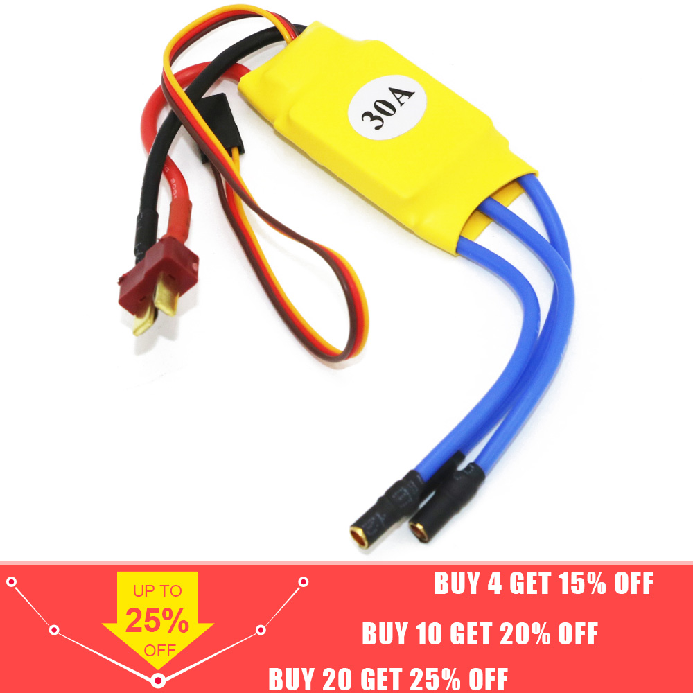 Wholesale XXD HW30A 30A Brushless Motor ESC For RC Airplane Quadcopter Drone