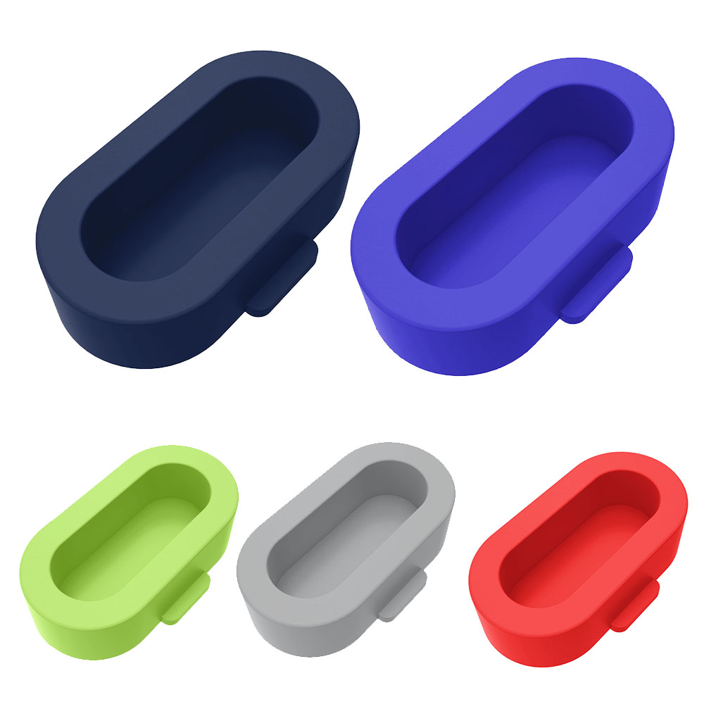 5PC/lot Case Silicone Dustproof Protective Plugs Caps For Garmin Vivoactive 3 /3 Music /vivoactive 4/Instinct /Venu Anti-Scratch