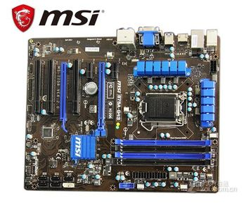 MSI B75A-G43 için orijinal anakart LGA 1155 DDR3 RAM 32G Anakart kullanılan Masaüstü Anakartları