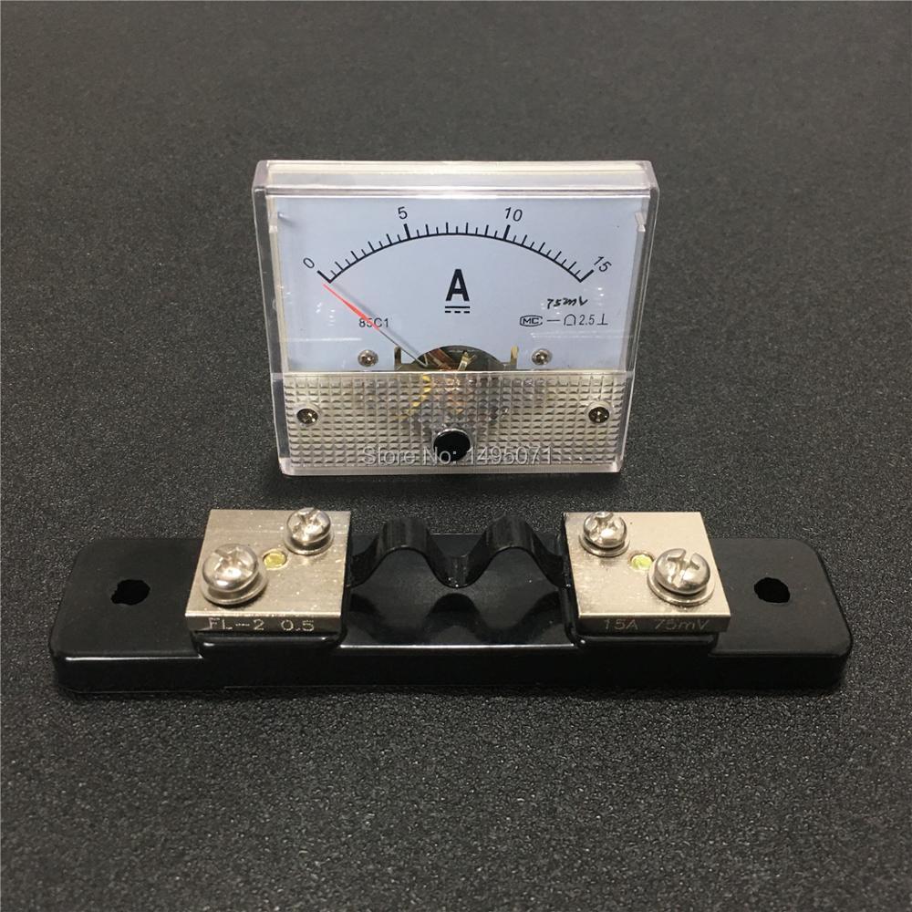 1 шт., внешний Амперметр 85 C1, 0-15 А