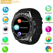 BT4.0 X100 Para Samsung Engrenagem S3 smart watch apoio WiFi/3G/GPS/2 GB/16 GB android 5.1 MTK6580 2.0MP Rastreador De Fitness Heart Rate(China)