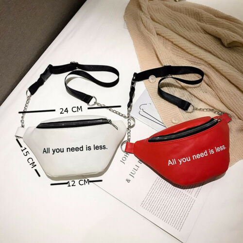 Zip Pouch Men Women Waist Bag Fashion Belt Chest Bag Travel Money Phone Bags For Ladies Female Luxury Funny Pack