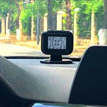 Горячая автомобильная система контроля давления в шинах TPMS цифровой дисплей USB зарядка регулируемый экран X66