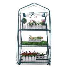 New 3 Layers Mini Garden Greenhouse Home Outdoor Flowers Gar