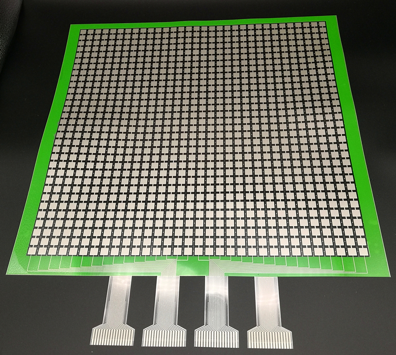 RX-M3232 Large Format Distributed Flexible Film Pressure Sensor Roche Technology Foot/Cushion Can Be Customized