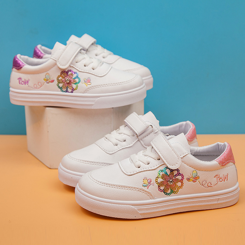 MHYONS Spring Kids Casual Shoes Sneakers Boys Girls Sport Shoes Toddler Little Kids Big Kids Boys Cute Sneakers Letters Shoes