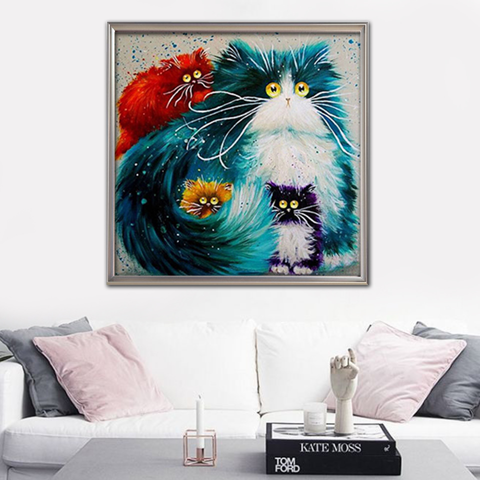 EverShine-Diamond-Painting-Cat-Full-Square-Diamond-Embroidery-Animal-Pictures-Rhinestones-Cross-Stitch-Diamond-Mosaic-Home