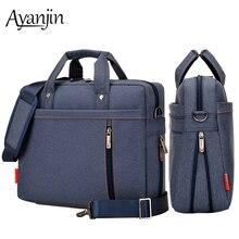 Extend Version Waterproof Laptop Bag 17.3 17 16 15.6 15 14 13 inch Shockproof Airbag Notebook Handbag Men Women Shoulder Bags
