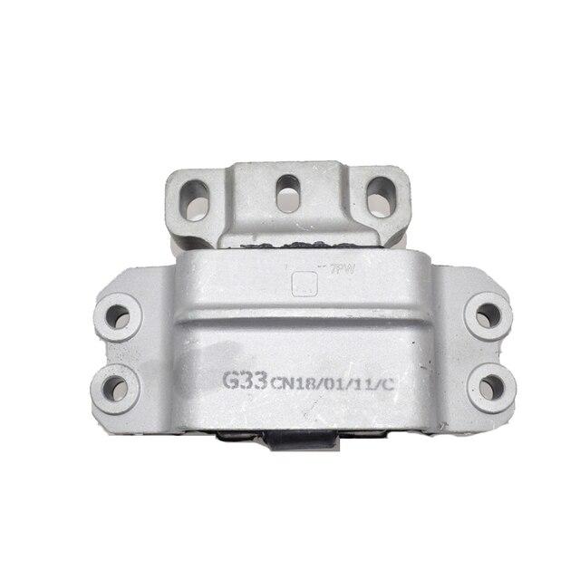 1K0199555 1K0199262 3PCS Rear&Front Right Left Engine Transmission Motor Mount Set For Audi A3 S3 VW Golf Jetta Touran Skoda 2
