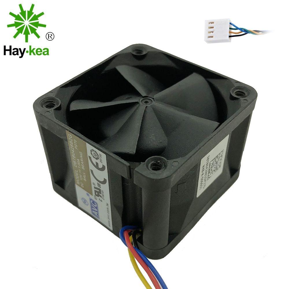 For AVC 4028 12V 1A DBTB0428B2G high- speed server fans 40 40 28mm Dual Ball Bearing 4-wire 4pin PWM