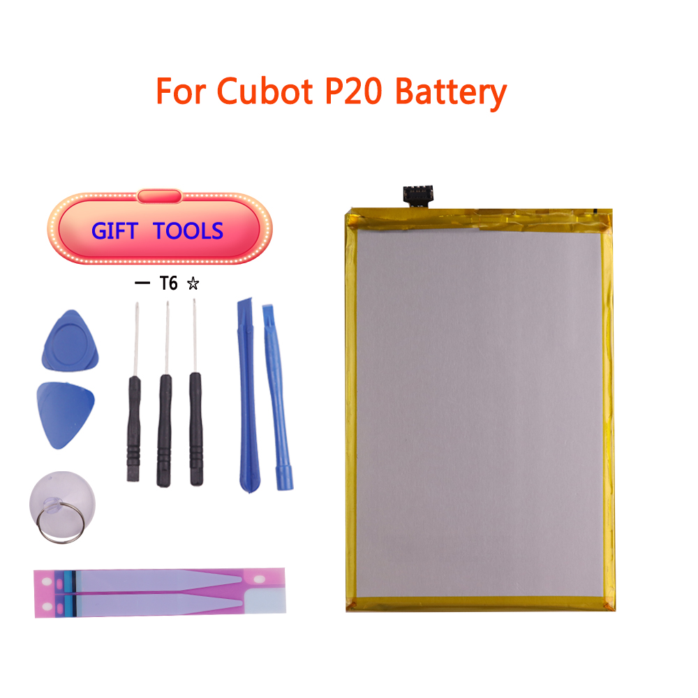 For <font><b>Cubot</b></font> <font><b>X18</b></font> Plus <font><b>Battery</b></font> 4000mAh High Capacity Replacement Backup <font><b>Battery</b></font> For <font><b>Cubot</b></font> P20 <font><b>Battery</b></font> Phone free Tools image
