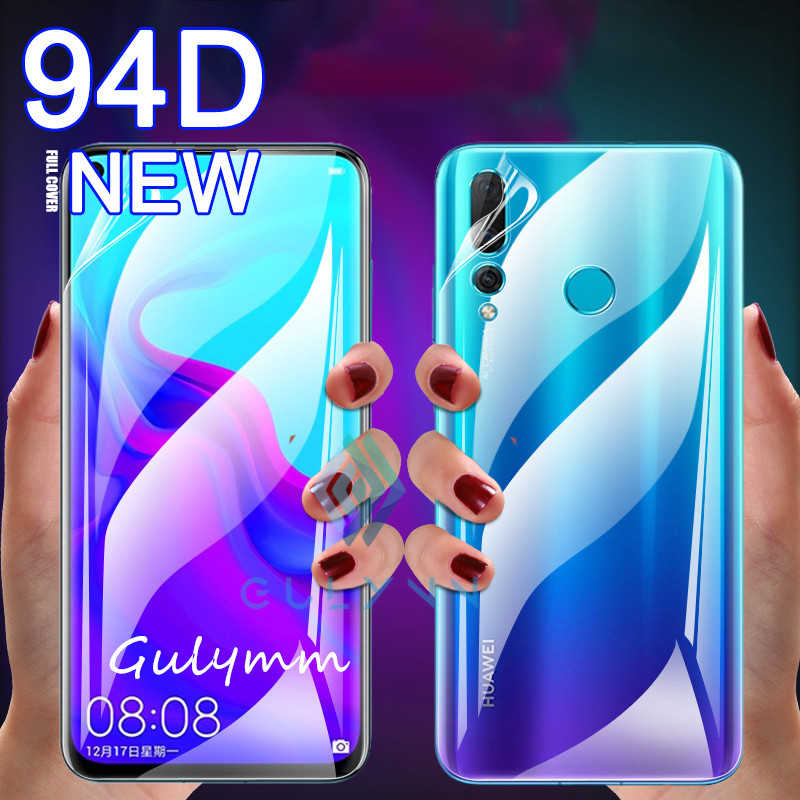 94DD Front & Back Hydrogel Film For Huawei P30 P20 Lite P Smart Z Screen Protector For Nova 5 5i Mate 20 10 Lite Not Glass Film