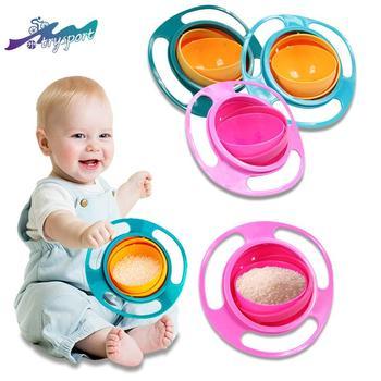 360 degree rotating balance bowl baby bowl bowl toy bowl baby bowl Flyer bowl  rotating balanc baby bowl degree rotating mini bowl