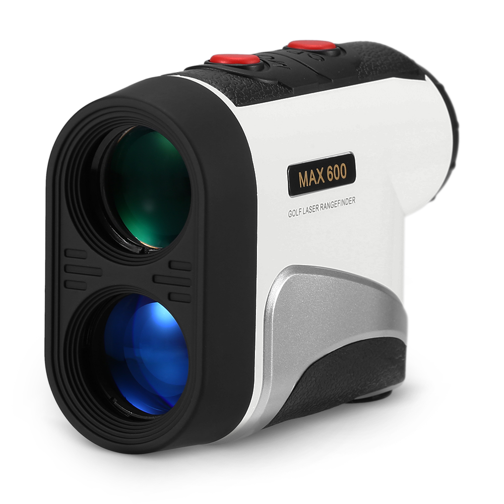 600M Golf Laser Rangefinder Range Finder 6X Magnification Distance Meter Angle Height Range Finder For Golf Hunting