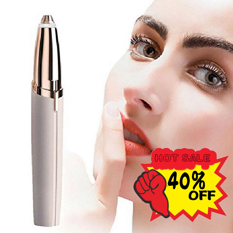 Multifunction Lipstick Eyebrow Trimmer Face Brows Hair Remover Epilator Pen Mini  Shaving Knife Painless Eye Brow Epilator Dfdf