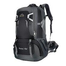 Водонепроницаемый дорожный рюкзак унисекс, Спортивная уличная сумка 60 л для скалолазания, альпинизма, Походов, Кемпинга для мужчин