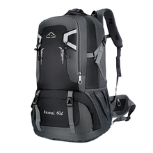 60L עמיד למים יוניסקס גברים תרמיל נסיעות חבילת ספורט תיק חיצוני חבילת טיפוס הרים טיולי קמפינג תרמיל לזכר