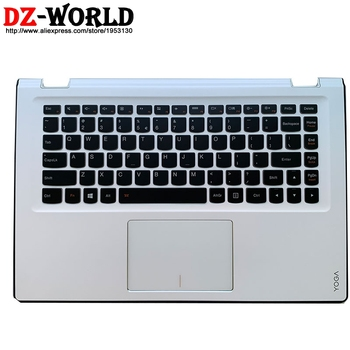 Palmrest Upper Case With US English Backlit Keyboard Touchpad for Lenovo Yoga 3 14 Yoga 3-1470 Yoga 700-14ISK C Cover 5CB0K61129