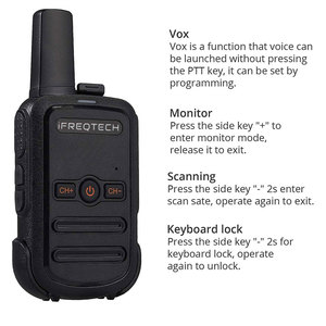 Image 4 - 4PCs AP102 Portable Two Way Radio STOCK in RUSSIA Mini Size 5W Walkie Talkie long range with VOX CTCSS/DCS codes
