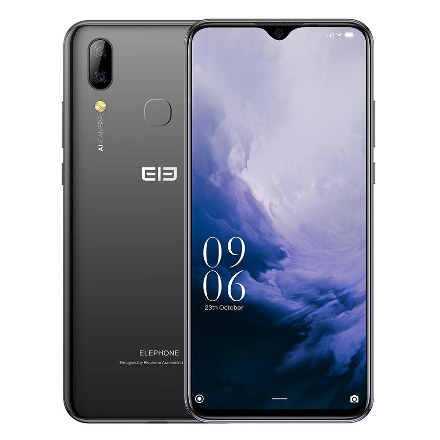 Elephone A6 Mini, 4 ГБ, 64 ГБ, 5,71 дюймов, экран капли воды, мобильный телефон, Android 9,0, MT6761, четыре ядра, HD + 16 МП, 3180 мАч, 4G смартфон - 4