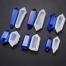 2019 NEW Soft Crystal UV Epoxy Mould DIY Pendant Mold Jewelry Tools Pendant Decoration Silicone Molds For Resin Jewellery Making
