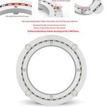 HQ BL01 250-1270 мм OD большой наконечник ремешок с демпфером Гладкий Твердый алюминиевый сплав вращающийся поднос для приправ поворотная пластина подшипник для кухни