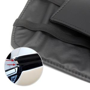 Image 4 - Reposabrazos central de microfibra para coche, funda protectora de cuero para BMW serie 5, F18, 2011, 2012, 2013, 2014, 2015, 2016, 2017