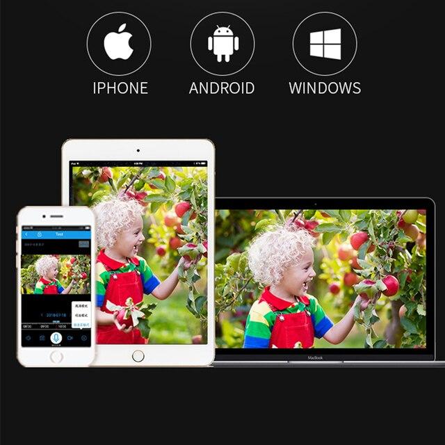 A9 1080P Wifi Mini Macchina Fotografica, telecamera di Sicurezza Home P2P WiFi Della Macchina Fotografica, Telecamera di Sorveglianza di Visione Notturna Senza Fili, monitor remoto Del Telefono App 6