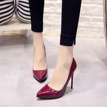 Женские туфли лодочки с острым носком размеры 34 44