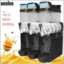 XEOLEO 15л* 3 резервуар для льда, машина для промывки, машина для смузи, мороженого, растапливания снега, машина для смузи, гранита