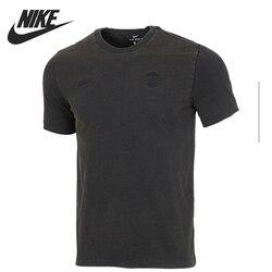 Nueva camiseta Original NIKE como PSG M NK, camisetas RETRO para hombre, ropa deportiva de manga corta