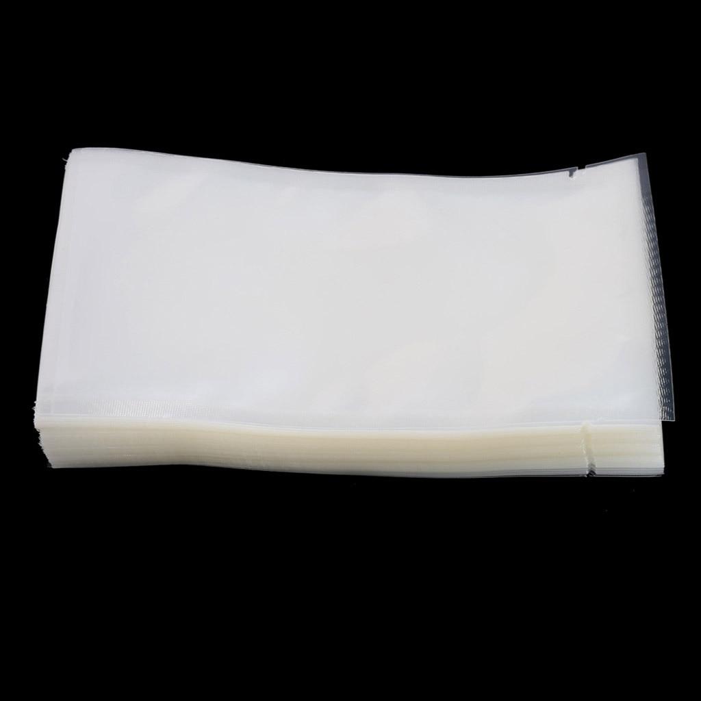 100Pcs Food Vacuum Bag Storage Sealer Space Packing Commercial Food Saver 5 Size