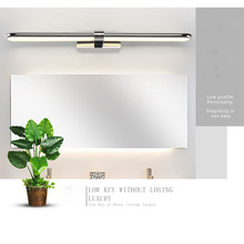 JUSHENG Indoor Led Wall Light Mirror Lamp16W / 20W 24W  Waterproof Acrylic Lighting Bathroom Makeup Fixture