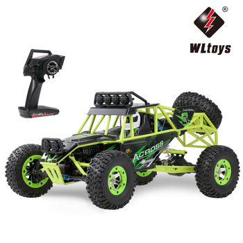 Wltoys 12428 1/12 RC Climbing Car 2.4G 4WD 50KM/H High Speed RC Car Electric Toys Brushed Crawler RTR Off-road Vehicle Kids Gift