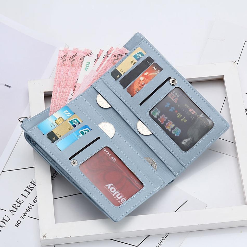 do cartão de crédito bolsas de celular organizador doces cor bolsa