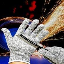 New Thicken Anti-cut Gloves Safety Work Gloves Men HPPE Cut Resistant Butcher Job Kitchen Impact Protective Gloves Self Defense