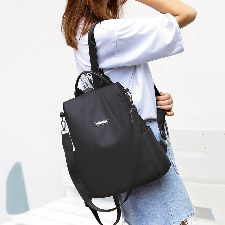 Hde3a1a13f05346578a64c275833b3fcbI - Women Fashion Backpack Oxford Multifunction Bags Female Anti-theft Casual Backpacks Girl's Elegant Mochila For School Work