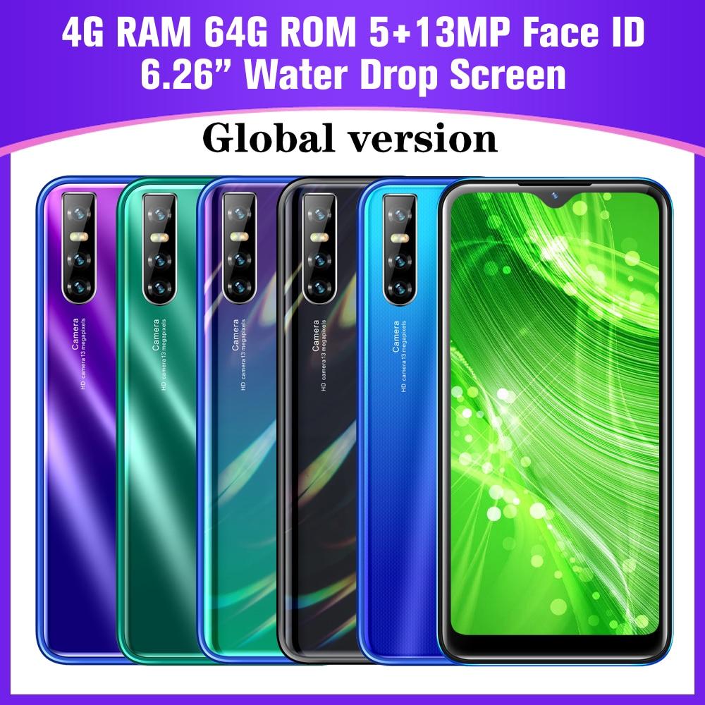 A30s смартфон с четырёхъядерным процессором, Android 6,26, ОЗУ 4 Гб, ПЗУ 64 ГБ, 13 МП