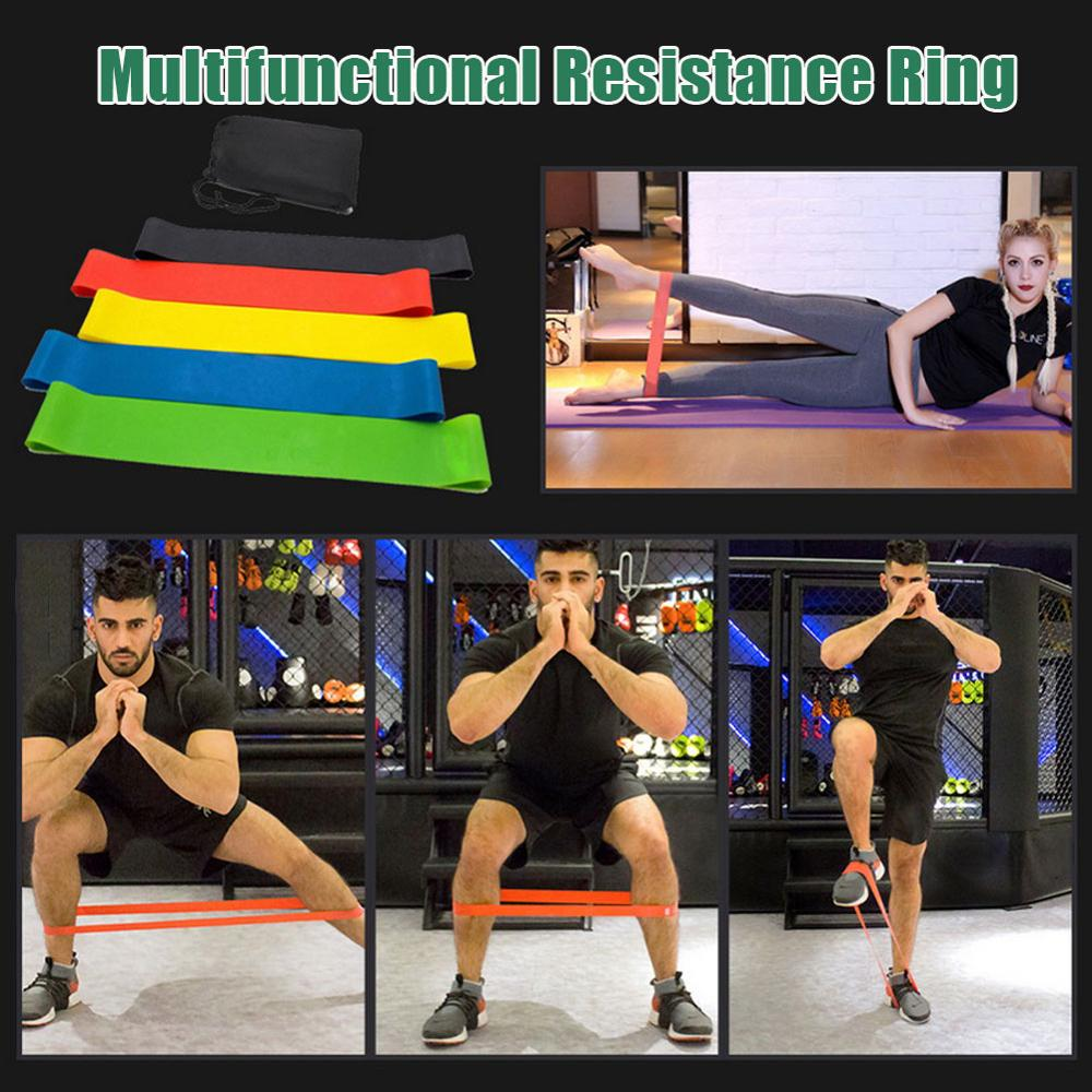 Pull Rope Elastic Resistance Bands 4