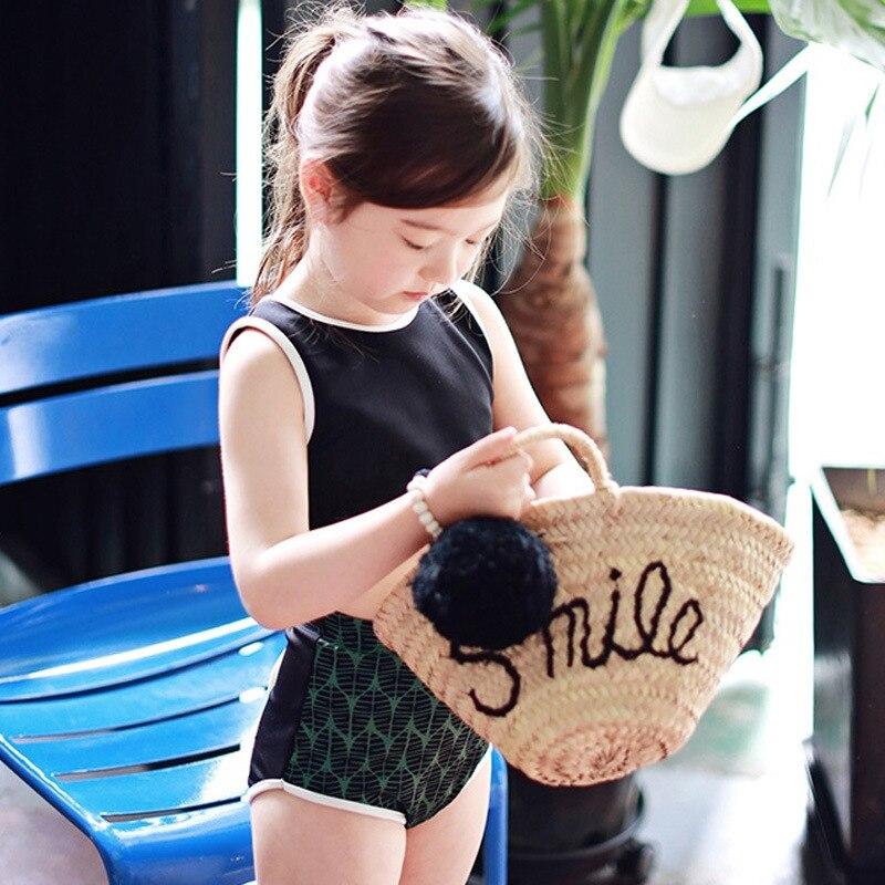 2017 South Korea New Style KID'S Swimwear Fashion Korean-style Princess Bikini Three-piece Set Girls Swimwear Swimwear