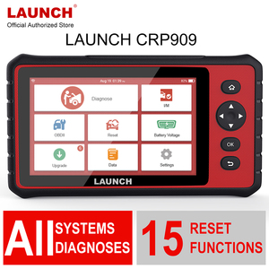 Image 1 - RA MẮT X431 CRP909 Obd2 Xe Công Cụ Chẩn Đoán Wifi Hệ Thống Tự Động ABS SAS DPF EPB Dầu Thiết Lập Lại OBD 2 Ô Tô máy quét PK MK808