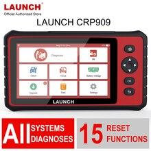 השקת X431 CRP909 Obd2 רכב אבחון כלי Wifi מלא מערכת אוטומטי ABS SAS DPF EPB שמן איפוס Obd 2 רכב סורק PK MK808