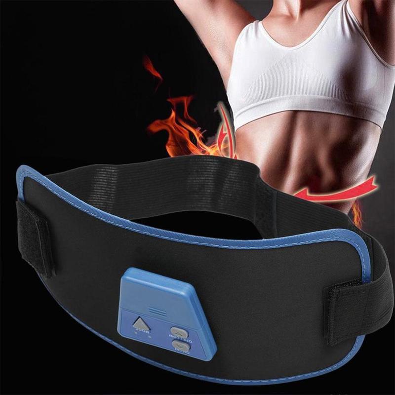 Пояс для похудения живота, спины, плеча, ягодиц, вибрация, Антицеллюлитный сжигатель жира, машина для похудения тела Массажный пояс AB Gymni